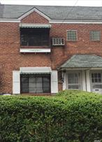 attached brick townhouse features open living room, dining room kitchen on 1st fl, 2fl w. large 2beds, 1 bath, finished back walk out basement, detached 1 car garage on the back, Q25/Q65/Q20B, short distance to Hermon McNeil park, ez to all