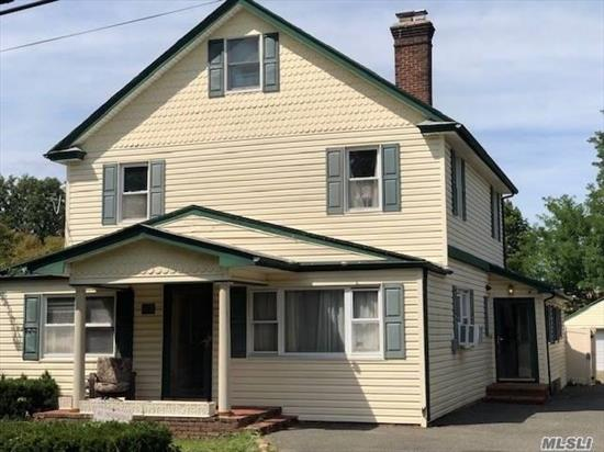 2 Family Residence on .25 acres. Excellent home and/or investment property estimated rent roll $5, 900/month, in the Heart of the President's Section of Port Washington, NY.