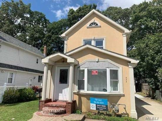 BEAUTIFUL FULLY RENOVATED HOME IN NORTH BALDWIN, LARGE EAT IN KITCHEN STAINLESS APPLIANCES. LARGE LIVING ROOM DINING ROOM WITH HARD WOOD FLOORS 3 NEW BATHS, 3 BEDROOMS HOME HAS A . FINISHED BASEMENT WITH SEPARATE ENTRANCE NO FLOOD ZONE AND A NICE 1 CAR DETACHED GARAGE