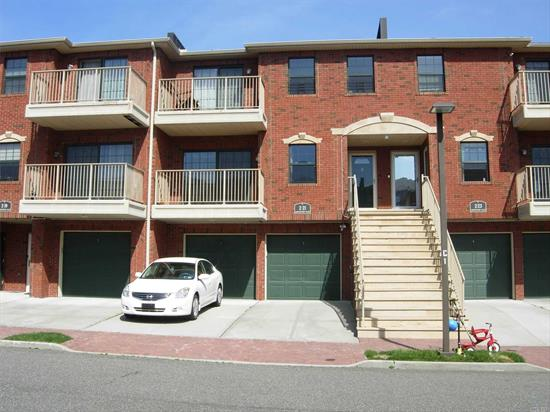 Mint Condition Duplex Unit w/living space 2100 sqf. water view, bridge view and park view. Gated community. 2 Balconies and parking spot #110 included.
