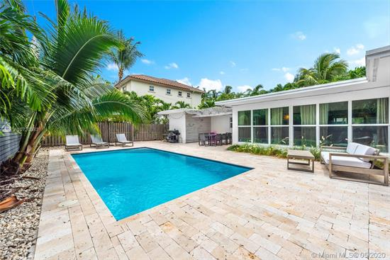 One Story Home With The Perfect Floor Plan!! Fully Renovated With Great Taste & Quality. Living Room, Dining Room Facing The Pool & Garden With Floor To Ceiling Windows. Open Kitchen With Stainless Steel Appliances. Master Bedroom. 2 Bedrooms With One Full Bath. Fully Renovated Baths. Big Playroom Area, With Private Access & A Full Bathroom - Could Be Used As A 4Th Bedroom -. New Pool And Pool Area. All Impact Windows & Sliding Doors. Very Quick Access To Harbor Drive. Close To Key Biscayne Community School. 1746 Sq Ft As Per 2016 Survey. Very Easy To Show!!! This Is The Best Deal For A Ready To Move In Home!!!