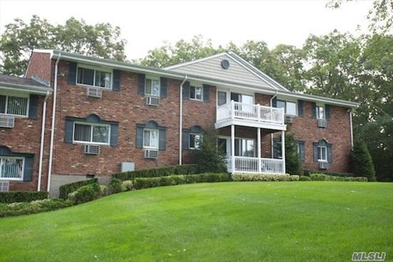 Distinguished 1&2 Br, With New Kitchen, Tuscany Style Cabinetry & New Appliances Including Microwave & Dishwasher.Heat & Hot Water Included. Ceramic Tile Baths.Terraces.Laundry Facility.Walk To Hauppauge High School.Charming, Quaint Landscape. Conv To Rte 454 & 347,  Lie & Northern State. .Prices/policies subject to change without notice.