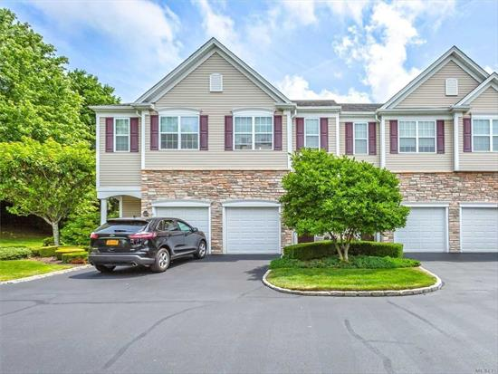 Lovely End Unit townhouse in Mystic Pines. End unit give extra windows and extra privacy. Open floor plan, full finished basement, elevator to all floors. Well maintained. New gas heat 2 yrs, New CAC, 1 year. 2 En-suites, both with Walk-in closets. Pool, clubhouse and landscaped grounds. Over 55 unit.