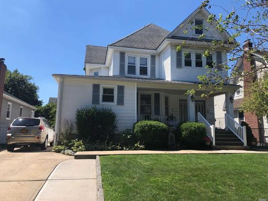 Beautiful 2nd floor legal 2 family apt. Unit has 2 bedrooms, eat in kitchen, living room, full bath. Attic for storage. Must have 700 or better fico score. Freshly painted