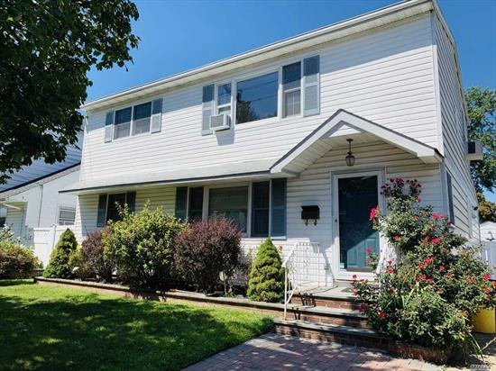 Beautiful And Spacious Colonial Great For Extended Family Boosting 5 Bedrooms, 3 New Full Baths, Huge Eik, 2 Family Rooms, New Floors Upstairs, Freshly Painted, Nice Yard Fully Fenced, Close To All. Available Sep 15th.