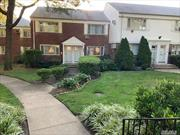 Desirable Bay Terrace Gardens,  Beautiful 2 bedroom, 1 bath Duplex with washer/dryer. Great outdoor patio for BBQ and entertaining.  Express Bus to NYC, Bus to LIRR, and Flushing. Walk to Bay Terrace Shopping Center/ restaurants etc... Can Join Bay Terrace Pool , walking distance. walk to Bay terrace waterfront Park with biking and walking paths.  Low maintenance includes Electric, water, heat, taxes , a/c, and dishwasher. Assigned parking spot only $20.