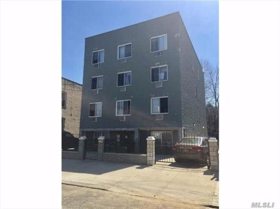 Built in 2009, NOT rent stabilized, four 2.5 bedroom apts four 3 bedroom apts, private driveway, 5 car parking, full fin basement, low taxes, tenants have separate boilers & hotwater heaters, $180, 000 income, $20, 544 expenses, great income producer.