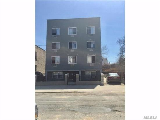 Built in 2009, NOT rent stabilized, four 2.5 bedroom apts four 3 bedroom apts, private driveway, 5 car parking , full fin basement, low taxes, tenants have sep boilers & hot water heaters, $180, 000 income, $20, 544 expenses. Great income producer.