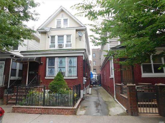 Location! Location! Location! 2 Family Detached Brick House Located In Heart Of Jackson Heights. 8 Mins Walk To Junction Blvd 7 Train Station & 90th Street Station, Must See..........