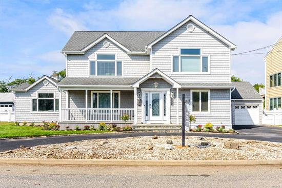 Completely Renovated 3 Yrs Ago, This 4 BR, 3 Bth Waterfront Colonial is a Gem!Open Layout is Perfect For Entertaining. Updated EIK with Stainless Steel Appliances, DR, Living Room, Den & Billiards Rm. Spacious Master Ste Boasts Radiant Htd Bth, Fireplace & Trex Deck. Property is Over 1/4 Acre. All Nest Thermostats, Camera System Around the House, CAC, Gas Heat, LED Lights, Updtd 200 Amp Electric, All Tile Flrs Have Radiant Ht . SD #10.MUST SEE!!!