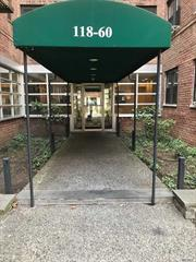 Large 1 Bedroom with junior 4 layout convertible to 2 bedrooms. Gated Private Complex with security in a garden line setting. Very convenient to all transportation E, F, J trains, LIRR. JFK airport. Major highways. Local shopping. Close to forest park. New elevators. Private maintained garden.