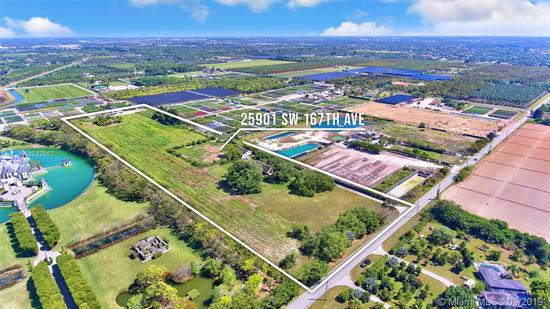 Amazing Opportunity To Own 10 Acres With Over 5, 000 Sqft Adjusted Area. One Of The Structures Offers 2 Beds, 2 Baths, Plus Stables For Horses