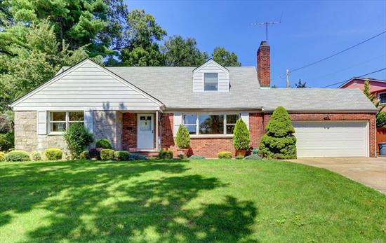 Amazing Opportunity To Live In The Heart Of Manhasset Hills. Four Bedrooms 2.5 Baths Cape. Open Floor Plan, Bright Living Room with Fireplace, Formal Dining Room, Eat In Kitchen. Full Basement with storage. Sold As Is. Private Backyard. Herricks Schools! Must See!!