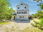 Perhaps One Of The Most Desirable And Sought After Locations In The Oak Beach Association. 108' f Bulkhead With A 68' Pier With Dual Boat Slips And Boat Lift. 6'-8' Of Water At Low Tide, So Bring Your Big Boat ! This Tri-Level Beach House Boasts Countless Upgrades. You own the sunrises and the sunsets ! Fire Island Without The Ferry ! ! !