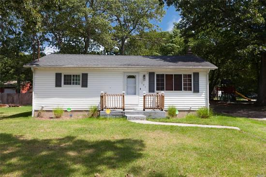 Recently Re-Done & New Paint! Great Starter, Down Size, or Investment Property