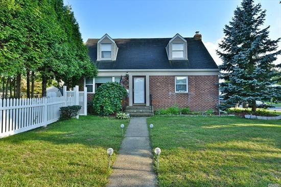 Gorgeous North Merrick Cape with a beautiful open concept. This property features 4br's and 2 full baths. Many updates and a fantastic location! The backyard was built for entertaining and has a lovely patio and water feature! Very private feel! Must Must See! Absolutely will not last!
