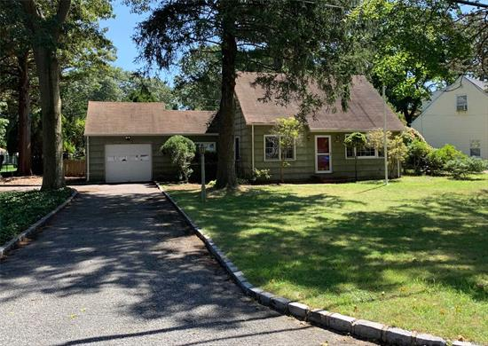Charming & spacious Cape in sought after School District #4. All appliances included, serene backyard with brick patio. Lots of possibilities; enough room to make it work for you! Tons of storage! Full basement & detached garage, with loft. Close to transportation & amenities.