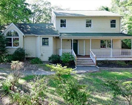 This 2 Story Style Home Features 3 Bedrooms, 2 Full Baths, Dining Room, Eat In Kitchen & 1 Car Garage. Centrally Located To All. Don't Miss This Opportunity!