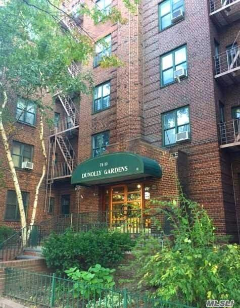 Sanded And Stained Oak Hardwood Floors Along With Fresh Paint Makes This Bright One Bedroom Move In Ready. Windows In All Rooms. Updated Kitchen With New Floors.Co-Op Has On Site Management, Laundry Room, Storage And Bike Room (Fee), Rent able Event/Party Room. Across The Street From Public Playground, Farmers Market. Few Blocks To Express Trains, Xps Bus To Laguardia Airport (One Stop), Abundance Of Diverse Restaurants And Events
