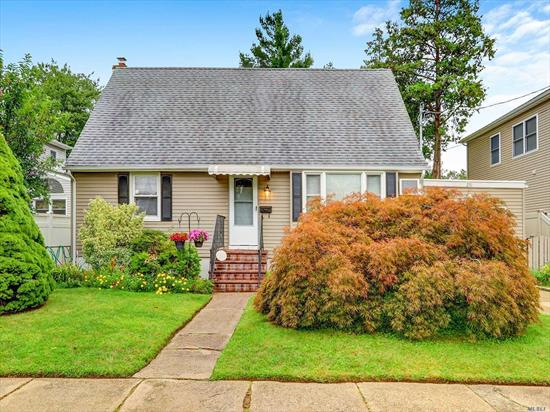 Lovely Cape In Massapequa Park. Spacious Bedrooms, Excellent Curb Appeal. Has OSE From Basement. Updated Electric And Gas Line In House.