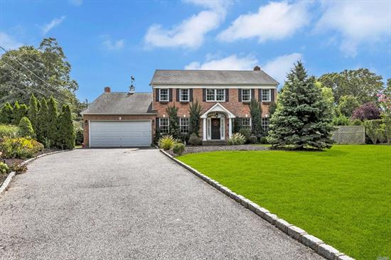 Custom Built 14 Year Young Colonial Offers Wide Open Living Complete w/ 4 Bedrooms, 3 Baths. Bedroom and Bath on Main Floor For Nanny or Parents. Gorgeous Wood Floors, Gourmet Kitchen, All Nestled on Almost 1/2 Acre w/ 2 Car Garage.
