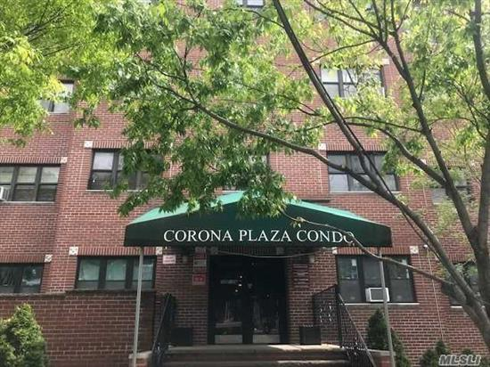 Nice size condo located on the top floor of an elevator building. Conveniently located near the Queens Center Mall, Queens Zoo, and New York Hall of Science. Less than a mile from the Long Island Expwy and Grand Central Pkwy. Why pay rent when you can own? Don't wait, call now!