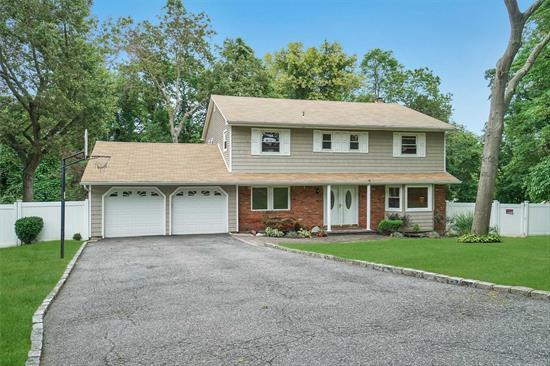 OWNER WANTS OFFERS-NEGOTIABLE!!-LARGE HOME/FENCED YARD/YOUNG GAS HEAT CONVERSION/IN GROUND POOL-NEW LINER-FRESH WATER/JACUZZI ROOM-INDOORS/FRESH PAINT/EXTERIOR LIGHTING/$13, 483 * TAXES-WONDERFUL/LARGE DOG/FINISHED BASEMENT/EASY GAS FIREPLACE/WASH MACH-SEP DRYWELL/BASEMENT-OPEN TO MAIN FLOOR/MORE!