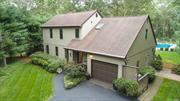 Stunning Saltbox/Modern With The Perfect Location-Last House On A Dead End Street Steps From Schools & Minutes From Shopping In SWR SD! Beautiful Open Floorplan-Soaring Ceilings, Skylights, Magnificent Great Room (LR/DR) With Fireplace & Walls Of Windows, Gorgeous Eik W/Cherry Shaker Cabinetry & Quartz Countertops, 4 Bedrooms, 3 Full Baths (MBR W/Gorgeous Bath)Hardwood Floors, Andersen Windows, Cac & Cvac, Spectacular Backyard With 16x36 IG Pool, Putting Green, Sand Trap, Deck, Paver Patio, Much More!