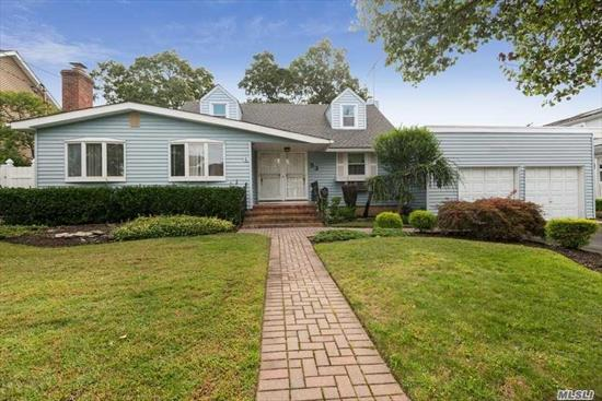 Super expansive cape also set on an over sized property. This 2243 living square foot home has excess options for creating a home that is your own. Featuring a 1 year old Heating System, Hw heater, oak cabinetry and stainless steel appliances. Main floor master bedroom with on suite and walk in closet. Taxes shown reflect a 24.42 % REDUCTION.