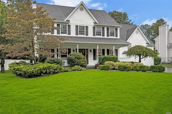 Four bedroom colonial in renowned Smithtown school district. Beautiful and spacious, the perfect combination of a traditional colonial with all the amenities and appointments for today's living. Two story foyer, living room and adjoining formal dining room w/ butlers pantry. Eat in kitchen w/ stainless steel appliance, granite counters. Family room w/ fireplace. Master bedroom suite with spa like bath. Three additional bedrooms and full bath. Full basement, 2 car garage. Welcome Home.