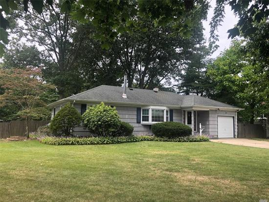 Sprawling Country Style Ranch on 100x200 Private Lot, Semi In Ground Pool, Central Air Conditioning, Full Basement with Bath, Master Suite or Possible In-Law Suite with Proper Permits, Large Granite and Stainless Steel Kitchen, Banquet Sized FDR, Rear Deck Overlooking Tranquil Koi Pond!