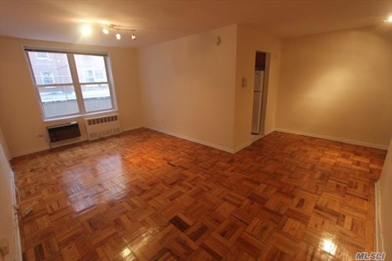 Large one bedroom, separate kitchen includes a dishwasher & a built-in microwave, tile bathroom and good closet space. NO PETS ALLOWED!!!