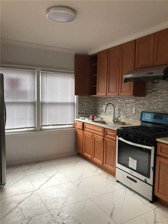 Totally Newly Renovated, 5Brs 3Bath, Hardwood Floors, Excellent Condition,  Near all Major Highways, Shopping, School and Public Transportation. Laundry Room in the Building, Back Yard, Parking and Heat includes; Credit and Income Checks Required By the Landlord.