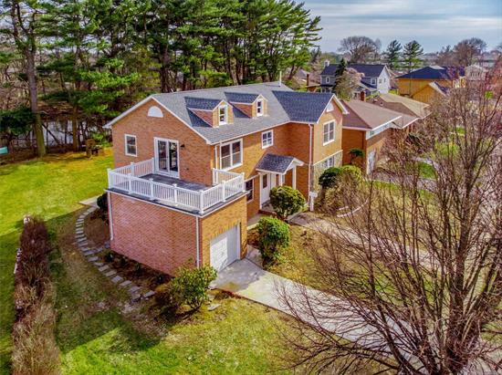 Brick Colonial on a quiet street in Princeton Park section of Jericho! Completely built in 2018 this fully bricked Colonial was built for the builder himself! No expense spared! Solidly built home with extra insulation, high quality materials, the best of the best!! Gas heating with hi efficiency tankless system, new CAC units, high end stainless steel appliances and hardware in baths & entire home. Seaman Elementary! Private location. Available for immediate occupancy.