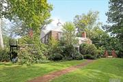 Colonial in Prestigious Flower Hill in as is condition. Create your own dream home. Manhasset SD #6. Munsey Park Elementary. Near Plandome LIRR Train Station.