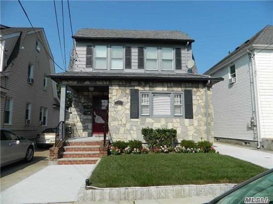 Totally Renovated 4 Room Apt. 2nd floor,  1Br, Lr, New Granite Eat In Kitchen, New Appliances, New Floors, Upgraded Electric, Washer And Dryer In Apartment. Walk Up Attic With California Closet Set Up. 1 Car Parking In Garage. Close To Lirr, Buses, Highways, And Shopping. Lynbrook Schools. No pets or use of yard.