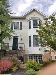 Beautiful Corner Unit Townhouse in the Heart Of Oyster Bay. Each Bedroom is En Suite with 2 Car Heated Garage, This unit has an Elevator with Beautiful Mill Work, Stainless Steel Appliances w/ Gas Fireplace, Balcony, and much more!!