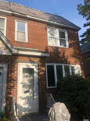 Semi-Detached Colonial With Private Driveway and Fully Finished Basement With One Full Bathroom Located In The Saint Albans/Hollis Section Of Queens. Property Features A Living Room, Dining Room, And A Kitchen On The First Floor. The Second Floor Consists Of Three Bedrooms And One Full Bathroom.