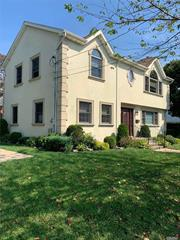 Bright, Updated 4 Bedroom Colonial. Center Island Kitchen With Stainless Steel High End Appliances Opens To Dining Room With Gas Fireplace & French Doors To Deck. Spacious Bedrooms With Laundry Upstairs. Partially Finished Basement W/Storage. Roslyn SD. Available Immediately.