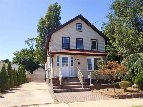 Newly Updated 4 Bedroom 2 1/2 Bth Colonial. This Renovated Home Offers Brand New Plumbing And Electric, Brand New Kitchen W/Granite Counter Tops, New Baths, Sliding Doors to Backyard, Plenty Of Extra Room For Mom And Dad, Prime Location, Accessible and Convenient To All, Move Right In!
