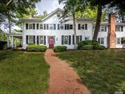 Welcome to the Grinsted House, one of the original Manhasset estates. This 1/3 of an acre property, with winter waterviews, is comprised of two distinct residences - a classic 4-bedroom Colonial and an adjacent 3-bedroom Cottage. With low taxes, this unique property offers an income producing opportunity and a convenient in-town location.