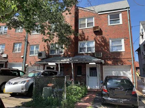LOCATION LOCATIONS, Near Kissena park, Queens college and 495 highway, 2family 3 stories brick house, one car garage and driveway, Q17 & Q65 to main st flushing