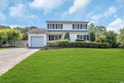 Beautiful Colonial Offers New Wood Floors Throughout. Huge Master Bedroom w/ 2 Walk-in Closets, Updated Kitchen, Baths, Windows, Roof + More. Beautiful Yard Complete w/ L-shaped In-Ground Pool + Pond.