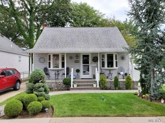 First time on the market in 40ty years. Charming cape in the heart of it all.  Updated roof and siding. Kitchen around 15 years old, along with the bathroom. Taxes have never been grieved, zoned for Covert ave and Seawanaka HS . Possible mother daughter with proper permits