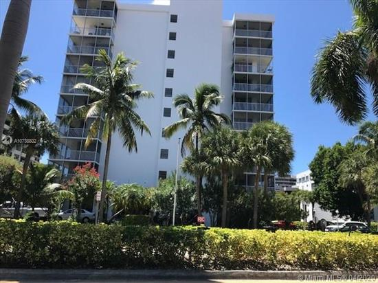 Large 2 Bedroom/2 Baths, Remodeled, Beautiful Tile Floors, Some View Of The Ocean, Lots Of Closet Space.