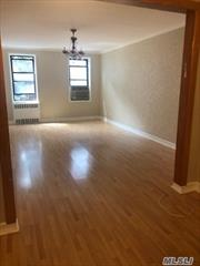 This is a nice 2bd, J-4 in heart of Rego Park, Brand new kitchen cabinets, granite counter top, ceramic tiles, new hardwood floors, close to subway and shopping area. Garage available extra$200, storage $20, It is board approval apartment, you need to have a good credit history and income