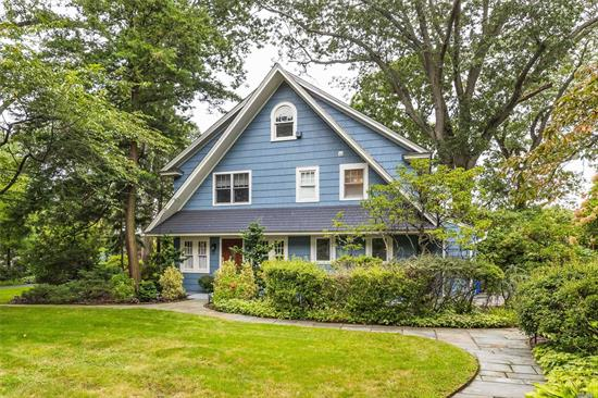 Harvard Area colonial set on Park like property. Complete renovation includes Pella Windows, New Central Air, Upgraded Electrical System, Chef's Kitchen, 2 .5 Baths & so much more. A great flow for Entertaining this home has large rooms & a spectacular outdoor covered patio to entertain on. The Great room welcomes you w/its Blue Stone Gas FPL flowing into FDR & the New Chef's Eat in Kitchen w/Large Center Island. Master overlooks Private Property - a must see home on the desirable Broadway!