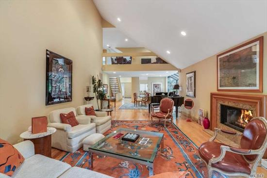 Amazing Opportunity to own over a 4000 sq ft condo including lower level Below mkt value , Price at $839K Why? Relocating owner says terms & time most important. Sunny updated Corner unit in Gated Community With All The Amenities Of Country Club Living. Perfect Location Diamond Condition, Spacious Lr W/Vaulted Ceiling/Gas Fpl, Gas Heat/Gas Cook. Master On The Main Is Oversized With Updated Master Bath. Club Membership Inc. With Indoor/Outdoor Pool And State Of The Art Gym. Opportunity Knocks