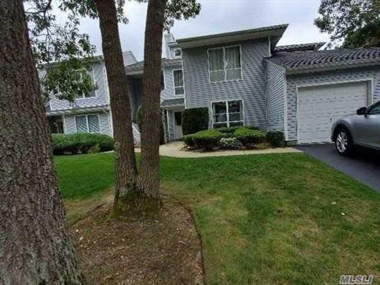 Spacious and airy first floor corner unit with a screened in porch overlooking the pond. En suite Master bedroom with large walk in closet. Open LR/DR with views of the the water. Complex boasts a large in ground pool, tennis courts and clubhouse. Must see!