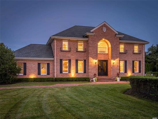 Stunning CH Colonial Set On a Acre/Cul de Sac in the Beautiful Comm. of Old Chester Hills. Home Offers over 5000 Sq. Ft And Greets You With A Grand, 2 Story Ent. w/Custom Staircase and Oak Flrs. It Also Boasts an Open & Airy Flow for Entertaining, Custom Moldings, Chef's Gourmet EIK w/Breakfast Alcove Overlooking the Luxurious pool, Library/Den w/Surround Sound, Spacious Master Ste. w/Spa Bath, WICs, 4 Addl. BRs, Custom Baths, Country Club Backyard w/IG Salt Wtr Pool Built-in Grill and Much More